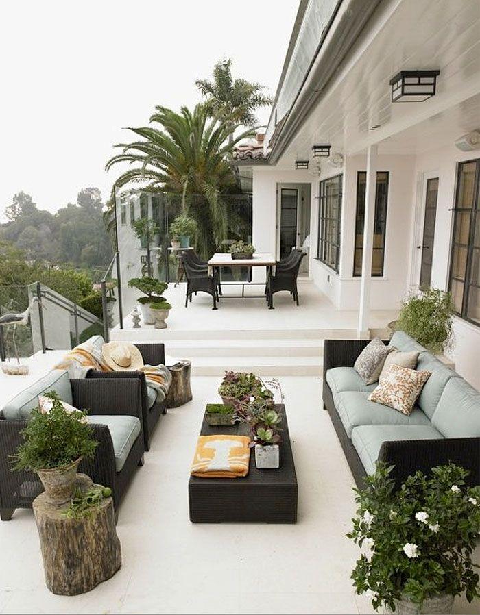 Exterior jardin terrazas arreglos florales for Arreglo jardines exteriores