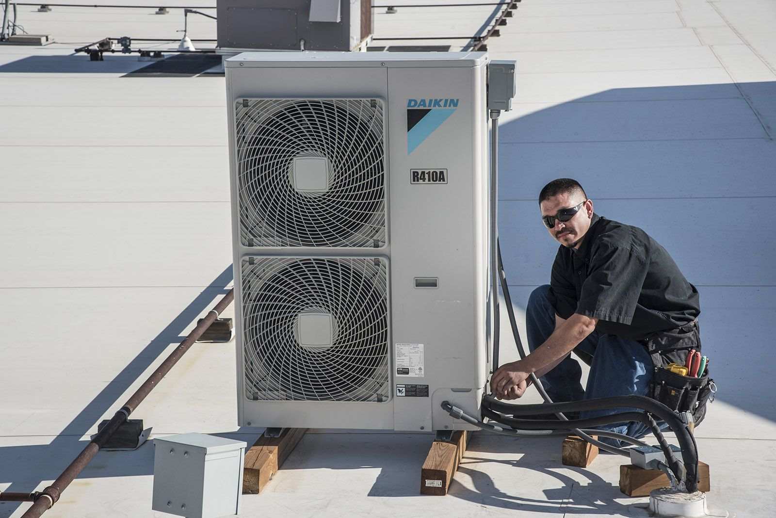 At Aztec Mechanical Air Conditioning the engineers are
