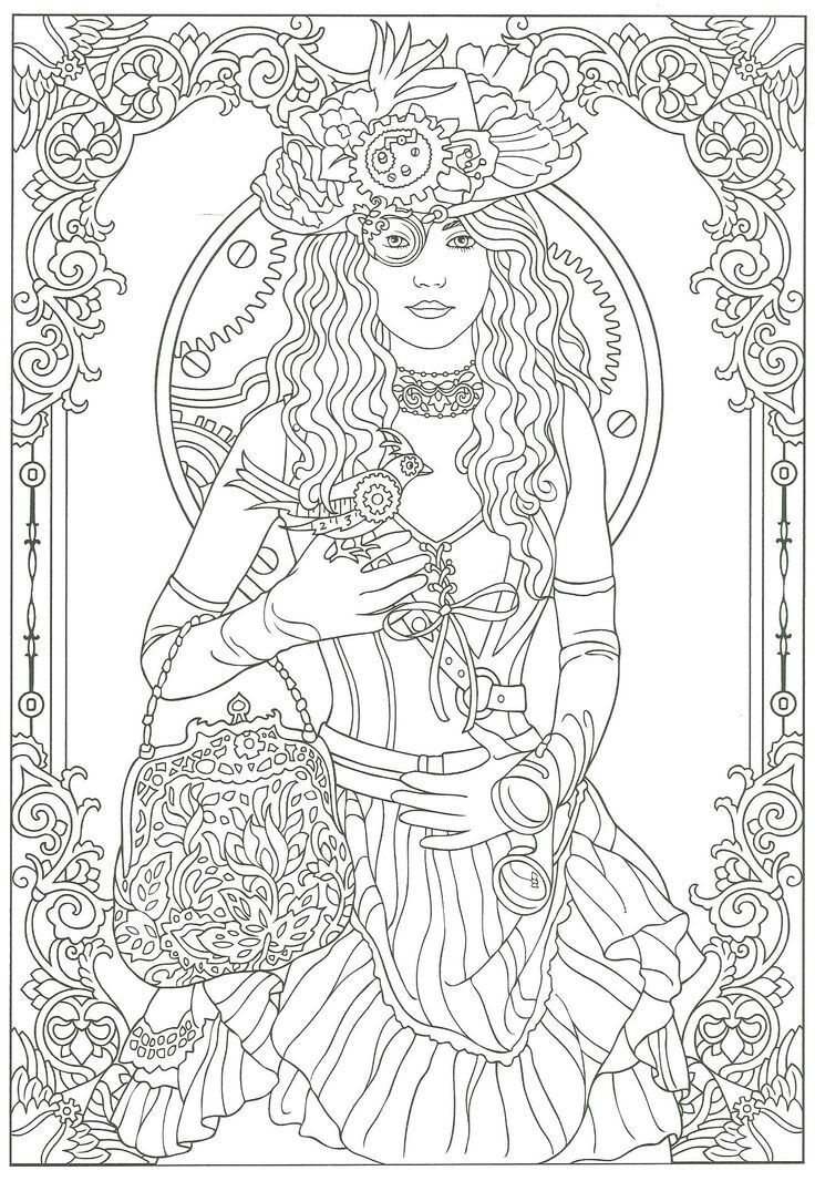 Happy Birthday (1920's Fashion Coloring Book): 1920's Fashion Adult  Coloring Book