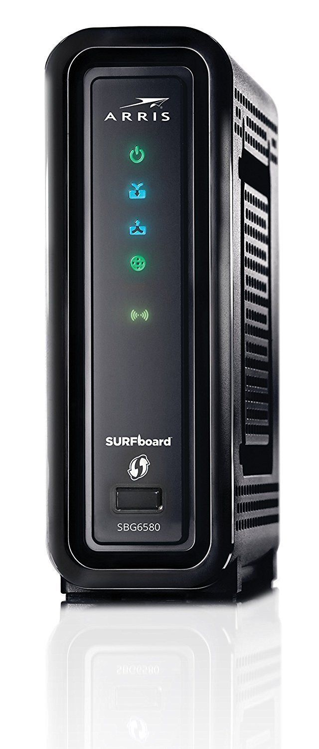 3 in 1 Dual Band WiFi Router Cable Modem 343 Mbps Download