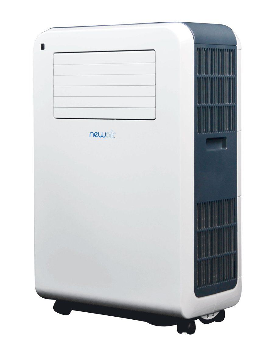 Newair Compact Portable Air Conditioner With Dehumidifier 12 000 Btus 7 700 Btu Doe Cools 425 Sq Ft Portable Air Conditioner Portable Air Conditioning Air Conditioner With Heater