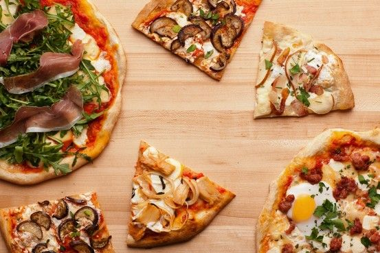 Pizza Perfect by Sarah Karnasiewicz, wsj: 5 artisanal thin crust pizzas from one easy recipe from Marc Vetri! #Pizza #Sarah #Karnasiewicz #Marc_Vetri