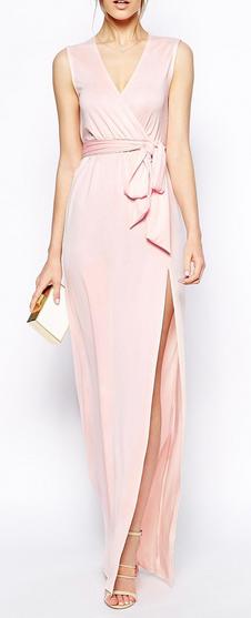 Sleeveless Kimono Wrap Maxi Dress | Fashion & Style | Pinterest