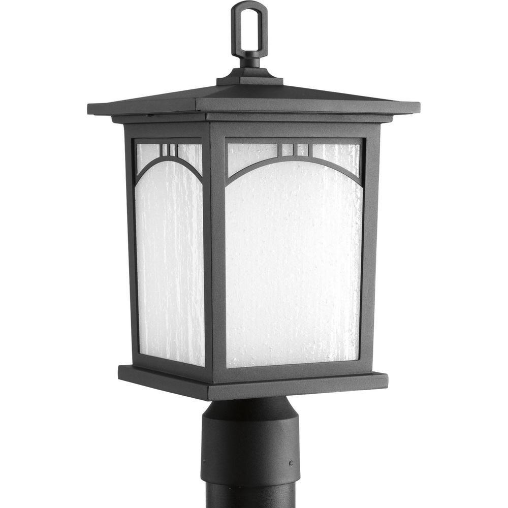 Progress Lighting Residence Collection 1 Light Textured Black Outdoor Led Post Lantern P6444 3130k9di With Images Lantern Post Progress Lighting Post Lighting