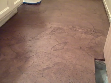Diy Stained Brown Paper Floor Awesomeness Under 30 Do It Yourself Hardwood Laminate Floor Alternative Flooring Diy Staining Paper Flooring