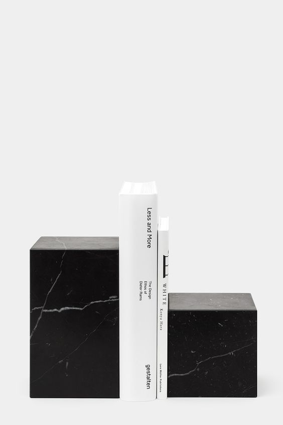 Image result for e 15 marble bookends