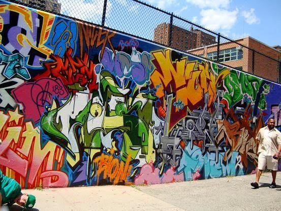 Colorful Graffiti Hip HopAdsGraffitiHiphop
