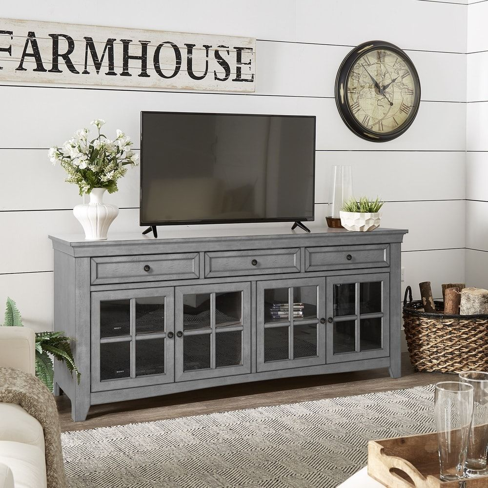"""70 Best Online Furniture Stores: Ediline 70"""" 3-Drawer Console Table TV Stand By INSPIRE Q"""