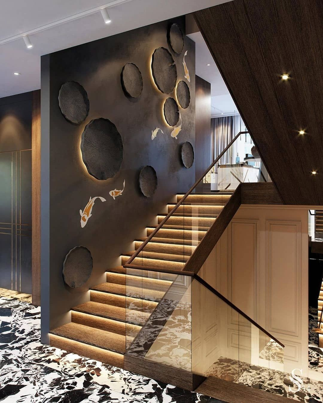 40 Trending Modern Staircase Design Ideas And Stair Handrails: 40 Beautiful Bedrooms With Great Ideas To Steal