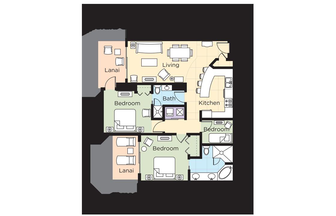 Wyndham Vacation Resorts Emerald Grande at Destin 10 Bedroom Deluxe