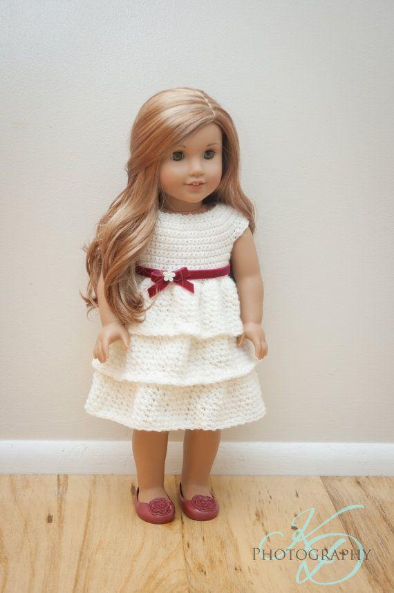 The Ally Dress Crochet Pattern for 18\