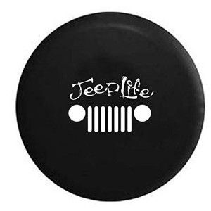 Jeep Life Grill Tire Cover Jeep Tire Cover Jeep Wheel Covers