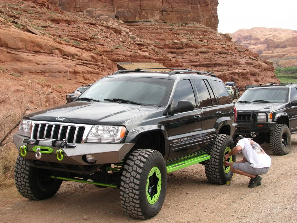 Jeep Grand Cherokee Off Road Bumper