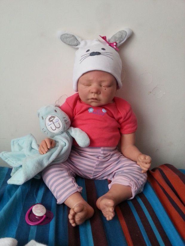 Modne ubrania Lalka Reborn jak prawdziwe dziecko 100% ORYGINAŁ | Moja wielka WB48