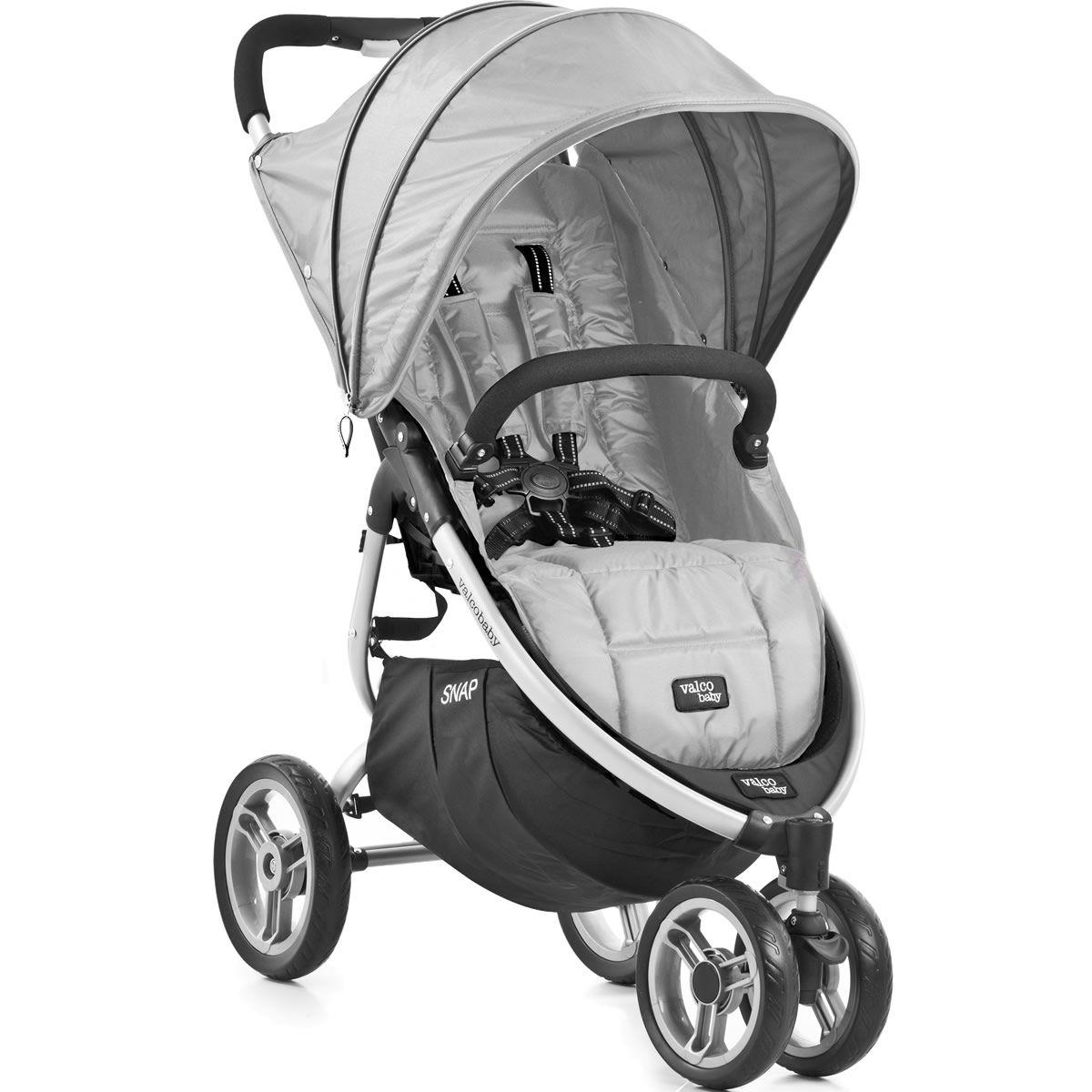 Valco Snap Single Stroller Silver Single stroller