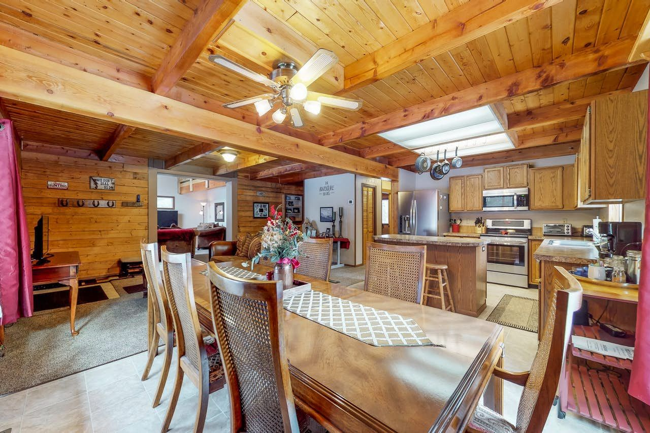 Forest lake cabin donnelly id with images lake