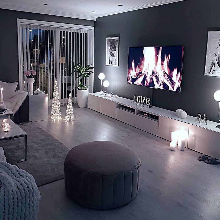 Idee Deco Salon Design coziness . . credit: @merals_home . check link in bio
