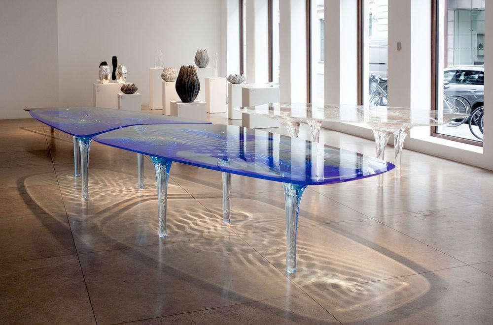Luxury Dining Tables By Zaha Hadid