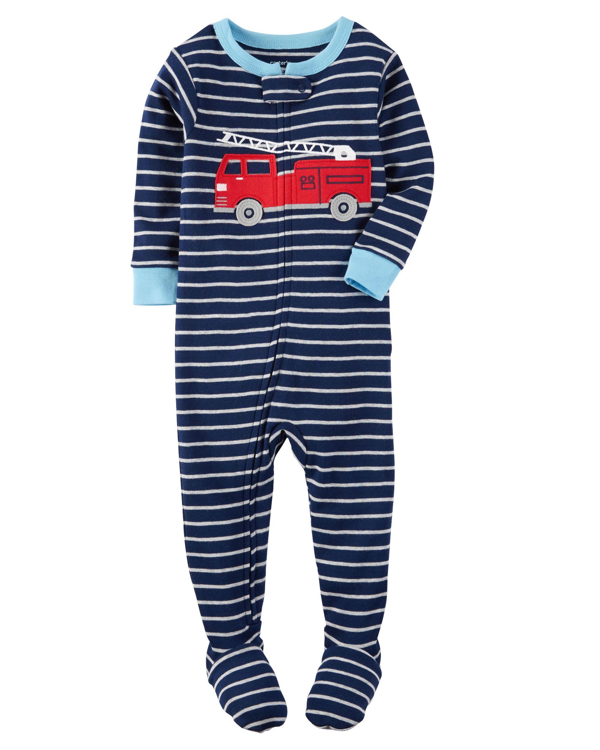 42766466e 1-Piece Snug Fit Cotton PJs