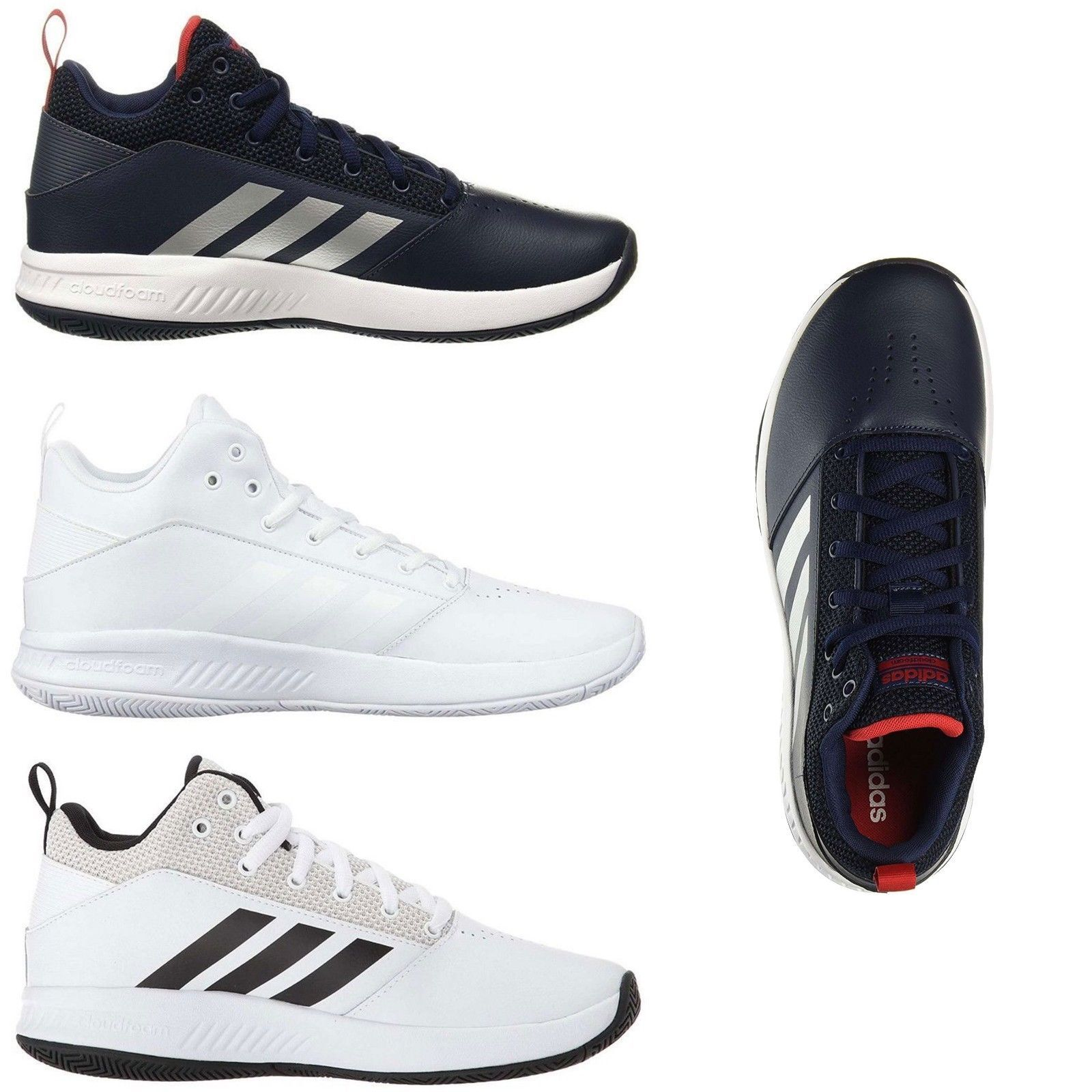 new style 61367 575a3 Mens Shoes 93427  Adidas Men S Athletic Sneakers Cloudfoam Ilation 2.0 Lace  Up Basketball Shoes -  BUY IT NOW ONLY   59.95 on  eBay  shoes  adidas   athletic ...