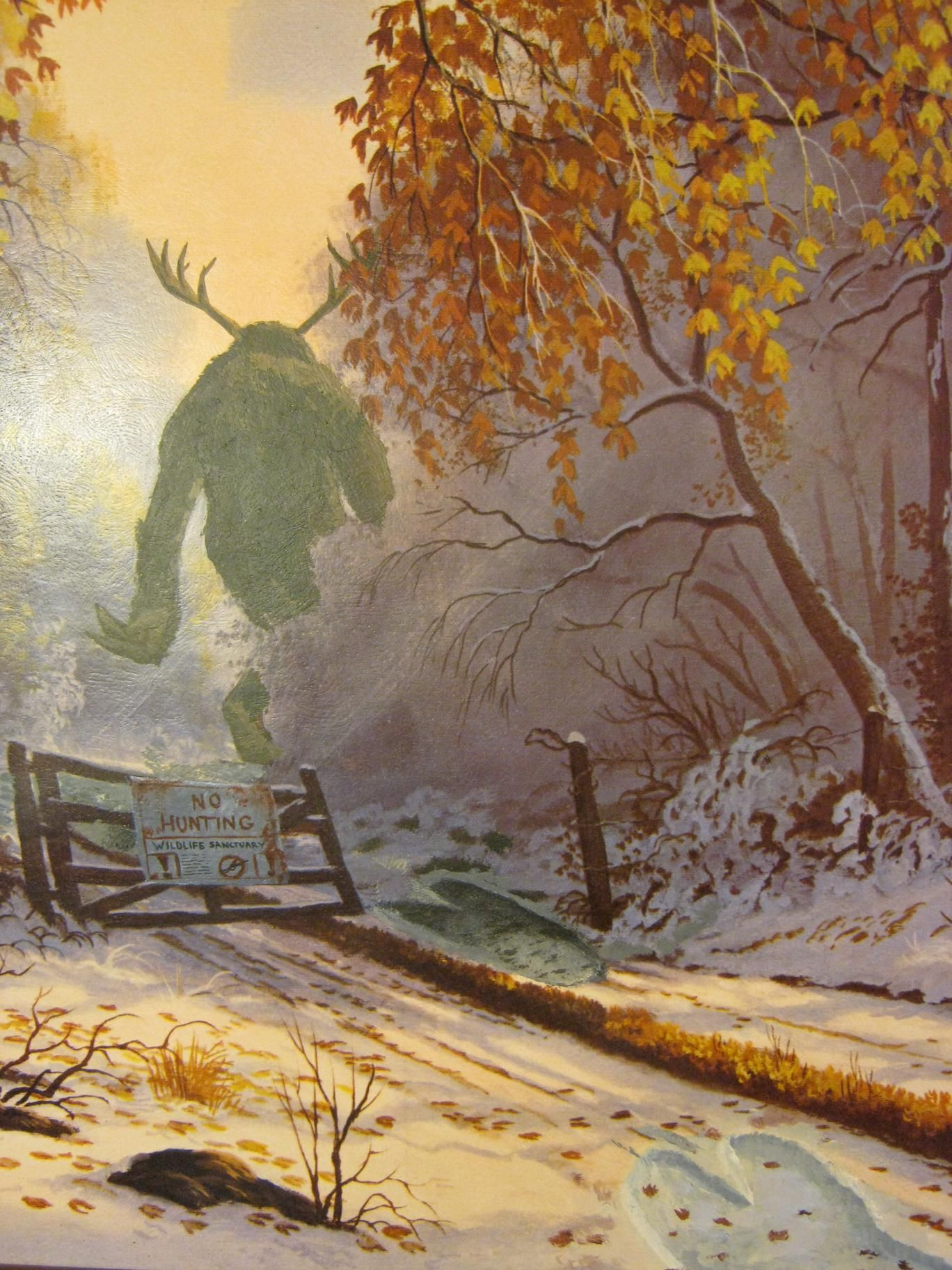 27 monstrous paintings from which it is impossible to take your eyes off