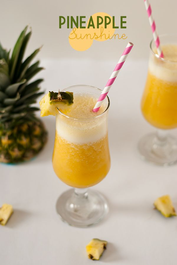 Pineapple Sunshine Juice! With a dash of magnesium