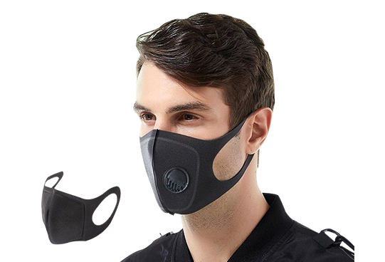 5-LAYER PM2.5 WASHABLE REUSABLE ACTIVATED CARBON SMOG MOUTH COVER SAFE USEFUL