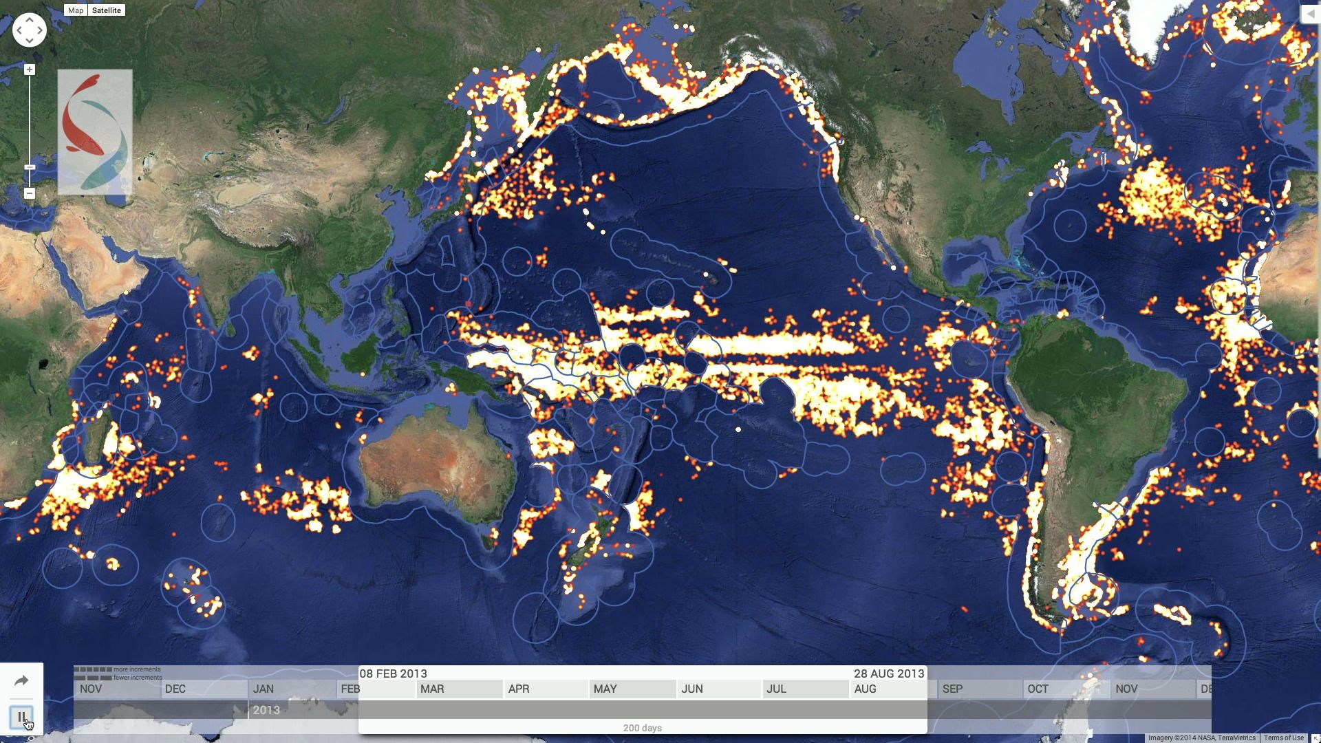 Earths Map%0A The Plan to Map Illegal Fishing From Space