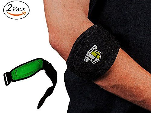 a6b84aa5fa Tennis Elbow Brace Best Elbow Forearm Band With Compression Pad Pain Relief  Support For Tennis Golf