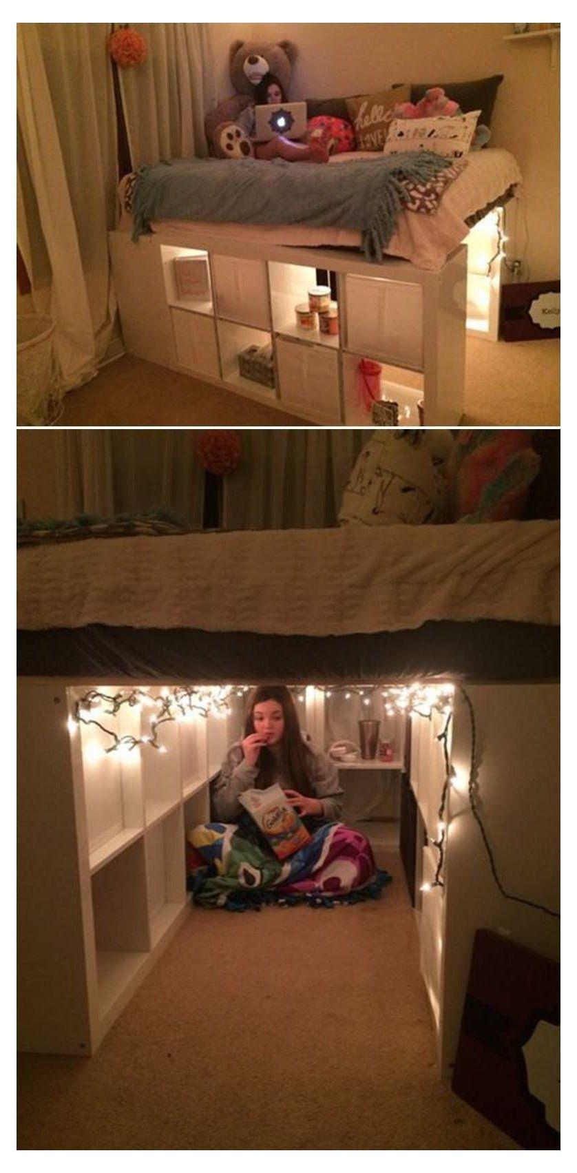 Photo of raised kids bed