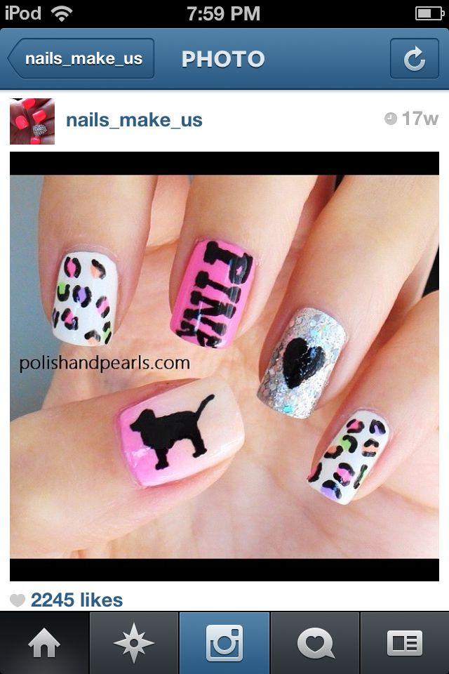 Pin de Olivia Short en ℕᎯℐℒЅ | Pinterest | Diseños para uñas