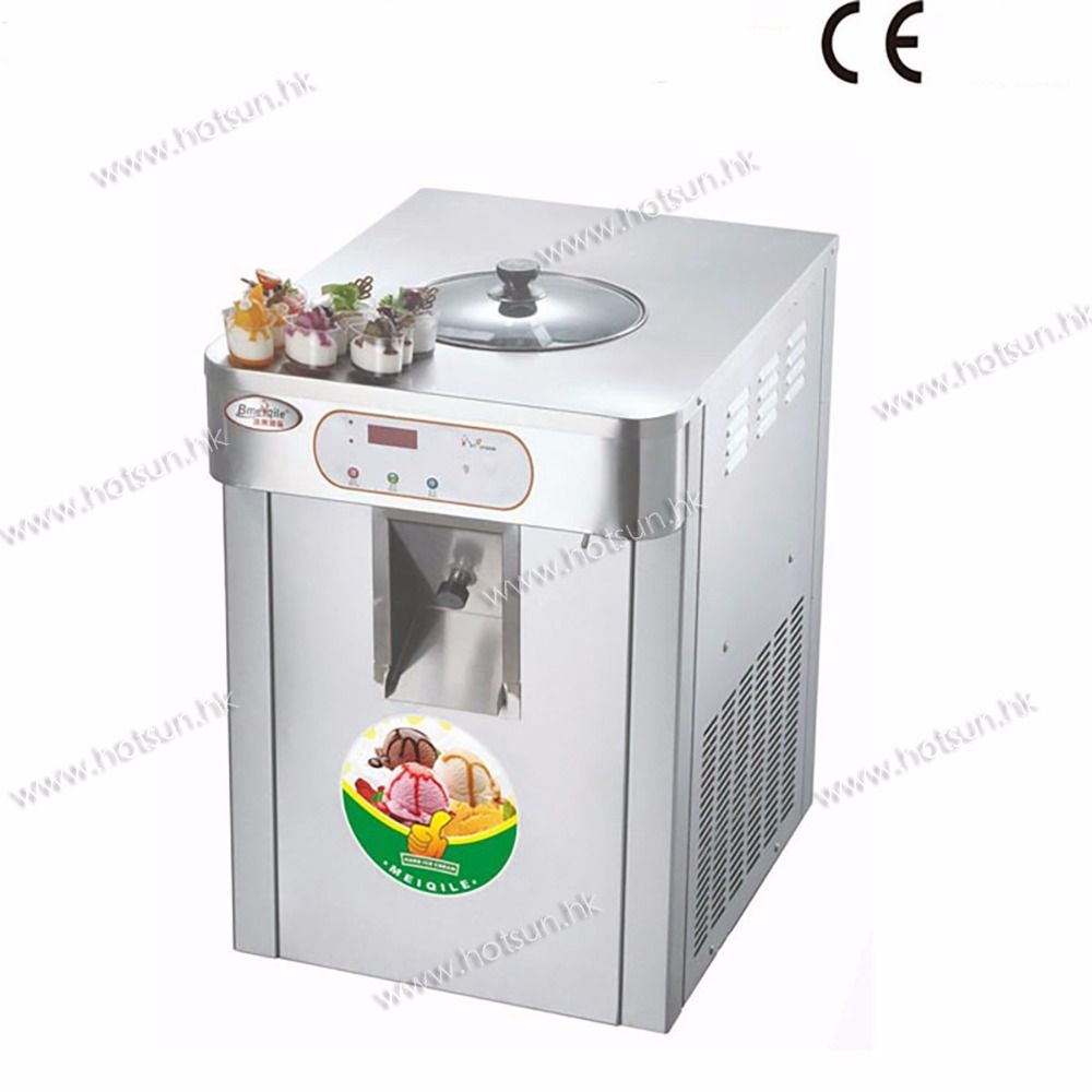 18l Stainless Steel Countertop 220v Electric Hard Ice Cream Maker