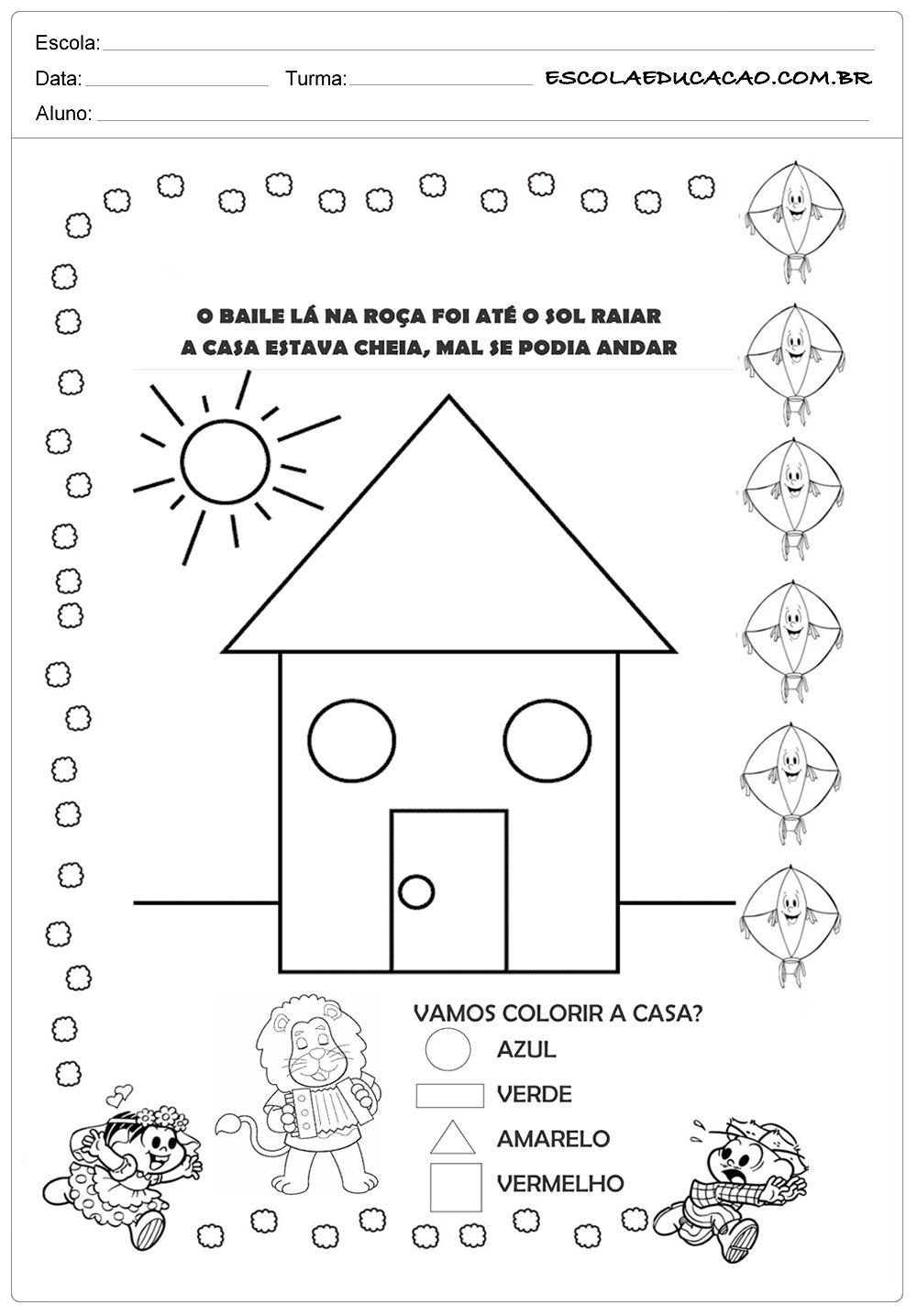 Atividades Festa Junina para Educação Infantil - Baile na ...