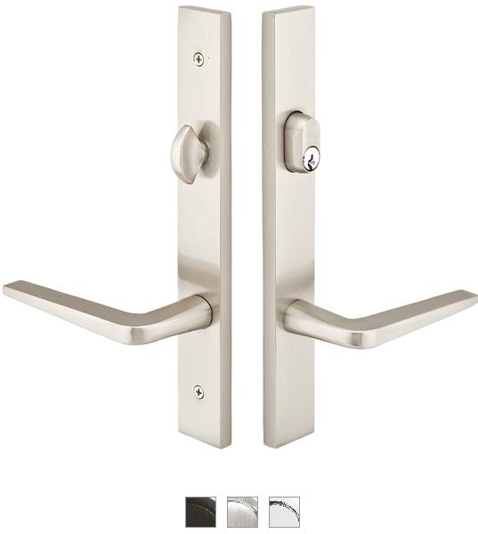 Emtek 13a1 3 Brass Modern Style Multi Point Trim For