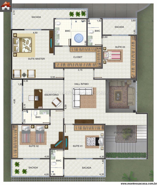 Pin by ardana dio on house map casas casas de una - Decoraciones de casas modernas ...