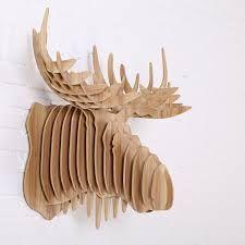 Risultati immagini per how to make 3d wooden reindeer