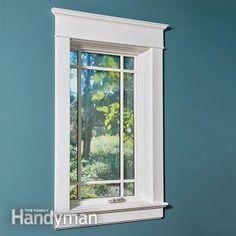 Installing Window Trim The Easy Way Mdf Molding