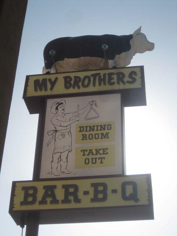 My Brother S Bar B Q Cow With Images Bar B Q B Q Cow