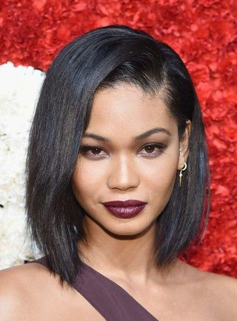 Straight Ombre Hairstyles: Chanel Iman Hair