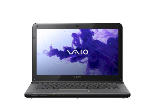 Black Friday Sony SVE14118FXB Sony VAIO E Series SVE14118FXB 14-Inch Laptop (Sharkskin Black)