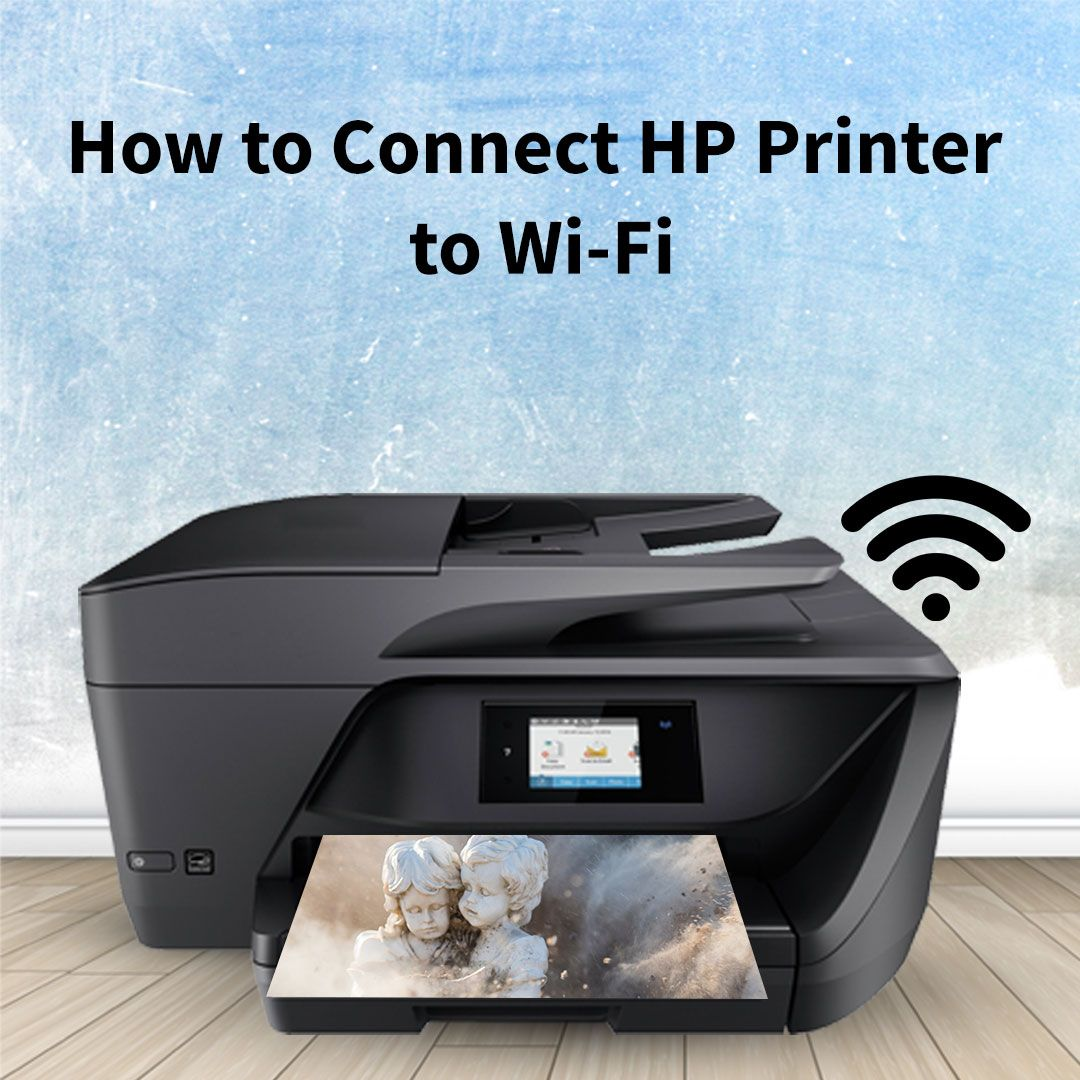 How to Connect Your HP Printer to WiFi Connection HP
