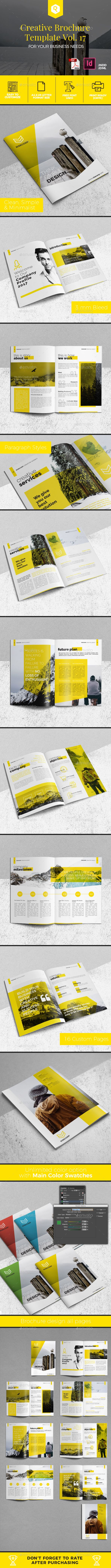 Creative Brochure Template Vol. 17