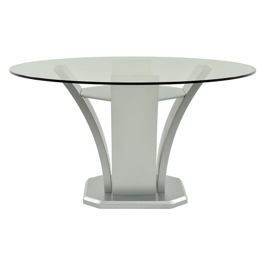Daisy Silver Round Dining Table Dining Table Round Dining Table