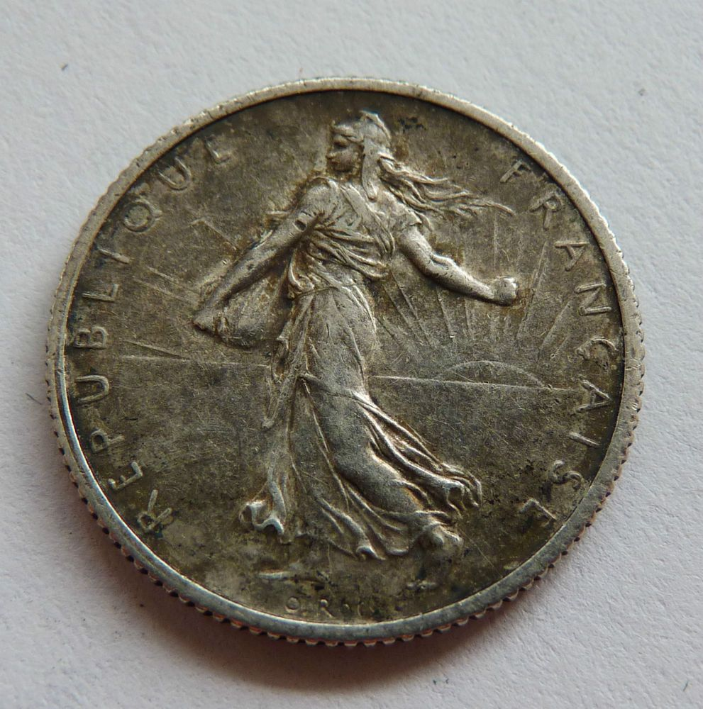 Ebay Co Uk Search: Antique French/France Silver One Franc Coin
