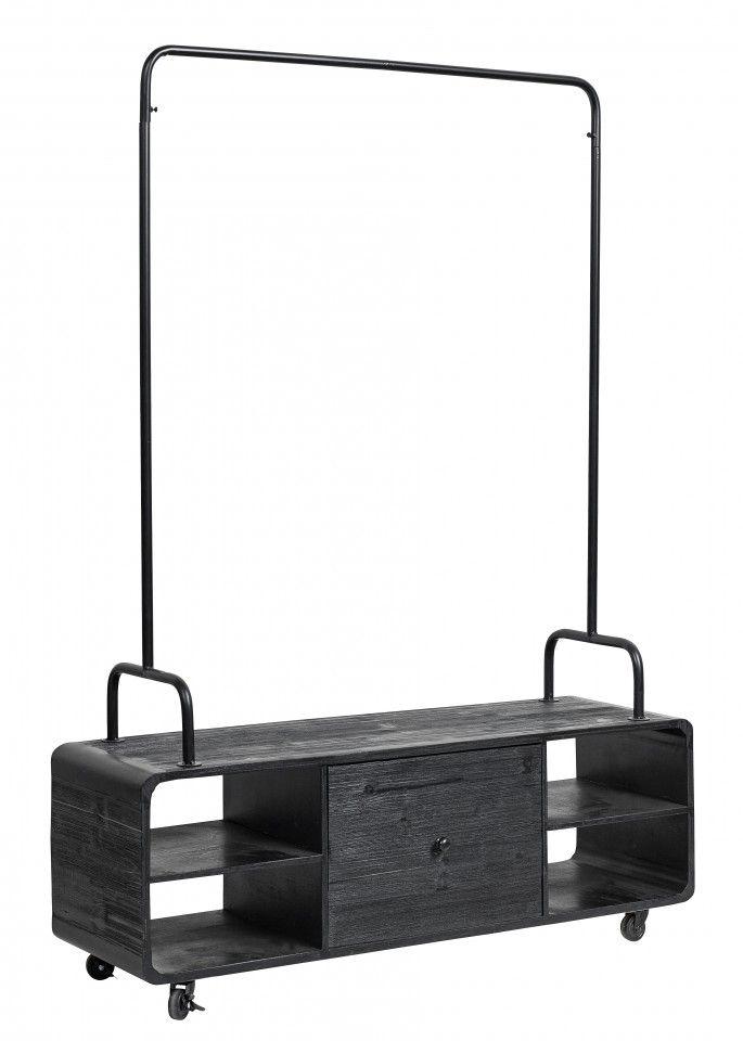 Poze Dulap lemn cu suport umerase Nordal