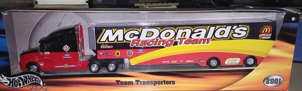 Hot wheels racing andy houston mcdonalds racing team