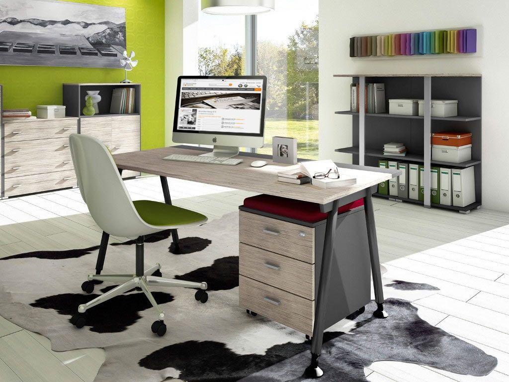 Moderne modulare büromöbel  Moderner Schreibtisch mit A-Gestell. Erhältlich unter: http://www ...