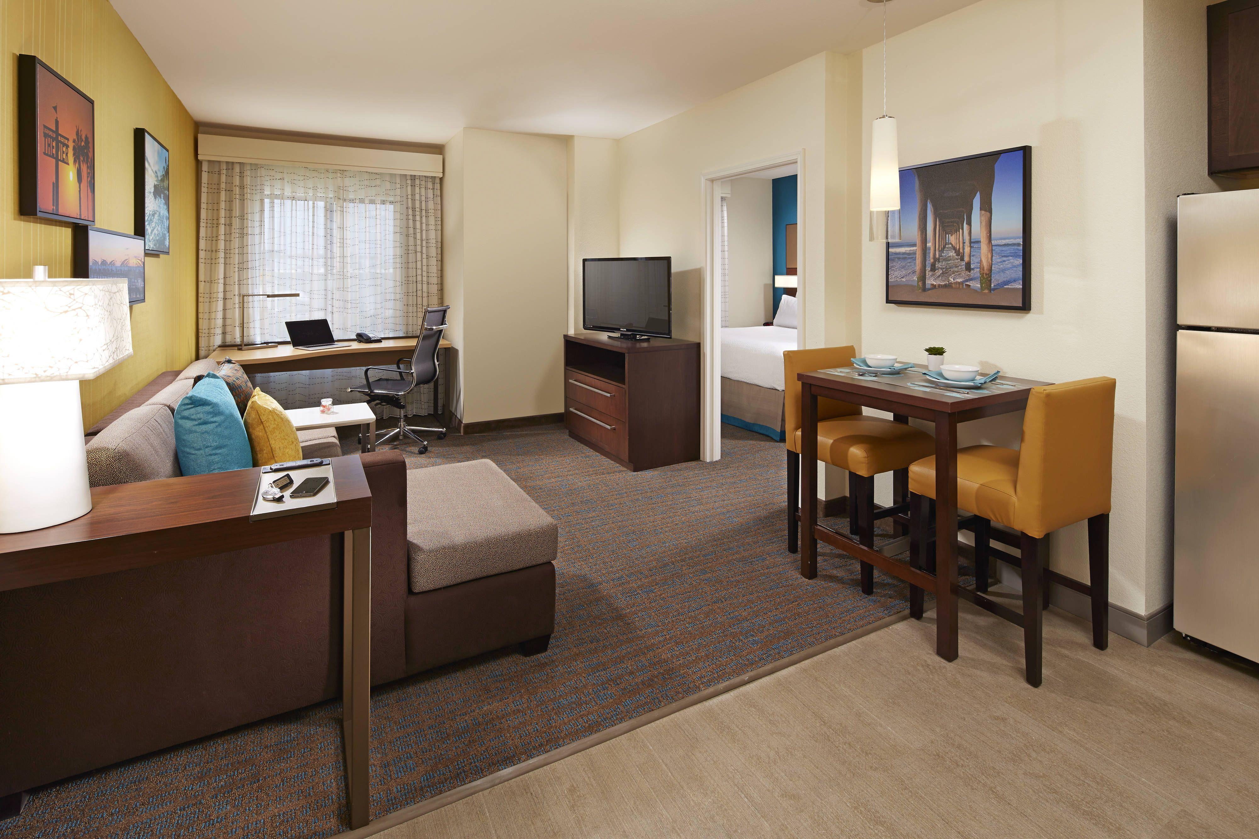 Residence Inn Los Angeles Redondo Beach One Bedroom King Suite Holidays Traveling Beautiful