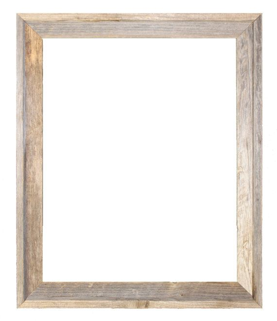 24x30 Open Style Recycled Barn Wood Picture Frame In Natural Color With All The Knots Nail Holes Blemi Wood Picture Frames Wood Poster Frames Picture On Wood