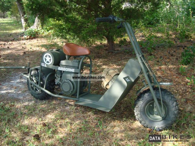 Other Mimeo Cushman Model 53 Military Scooter ww2 1944 Vintage, Classic and Old Bikes photo